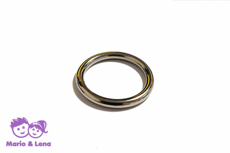 O-Ring 25 x 3,5mm Stahl Silber