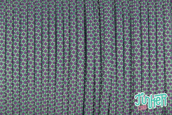 150 Meter Rolle Type III 550 Cord, Farbe MINT & LILAC...