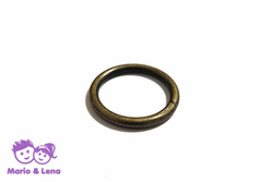 O-Ring 25 x 3,5mm Stahl Altmessing