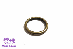 O-Ring 20 x 3,0mm Stahl Altmessing