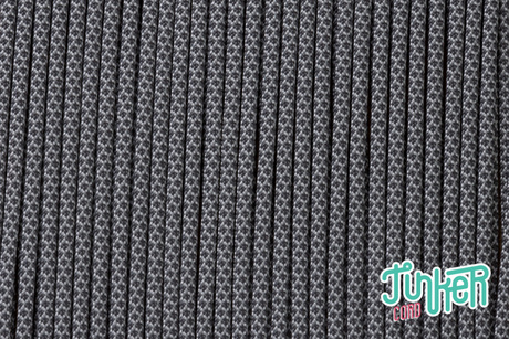 150 Meter Rolle Type III 550 Cord, Farbe SILVER GREY & CHARCOAL GREY DIAMONDS