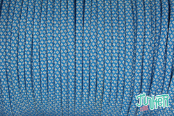 150 Meter Rolle Type III 550 Cord, Farbe COLONIAL BLUE &...