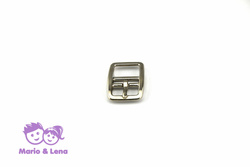 Double Buckle 20mm #147 nickle plated Silver