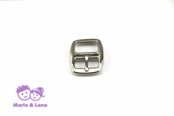 Double Buckle 25mm #147 nickle plated Silver