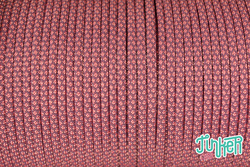 150 Meter Rolle Type III 550 Cord, Farbe LILAC & ROSE...