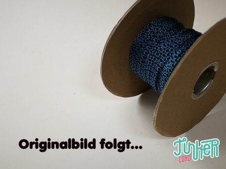 150 Meter Rolle Type I Cord, Farbe BABY BLUE & MIDNIGHT BLUE DIAMONDS