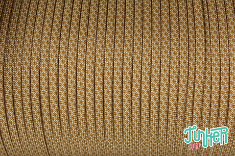 150 Meter Rolle Type III 550 Cord, Farbe WHITE & GOLD DIAMONDS