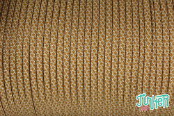 150 Meter Rolle Type III 550 Cord, Farbe WHITE & GOLD...