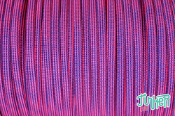 CUSTOM CUT Type III 550 Cord in color NEON PINK &...