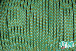 150 Meter Rolle Type III 550 Cord, Farbe MOSS & TURQUOISE...