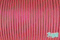 150 Meter Rolle Type III 550 Cord, Farbe MINT & NEON PINK...