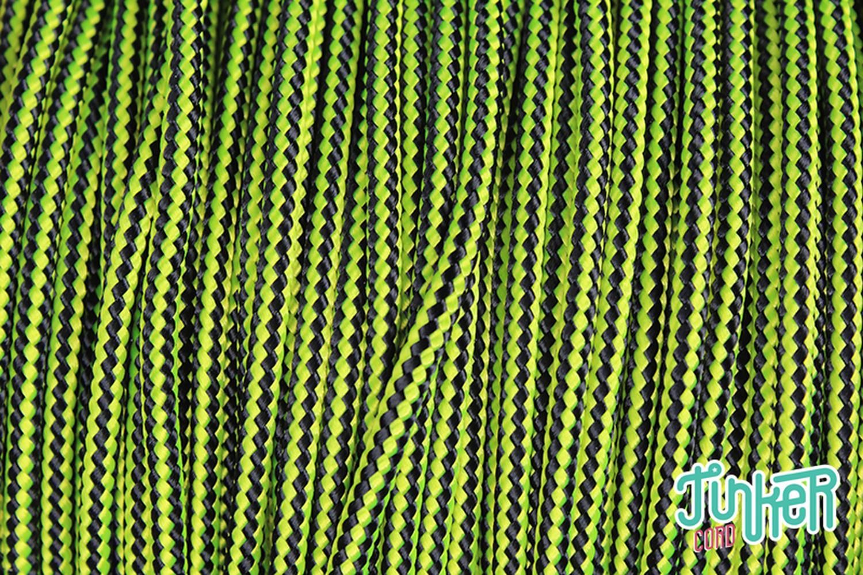794361ebce6a CUSTOM CUT Type II 425 Cord in color NEON YELLOW   BLACK STRIPE