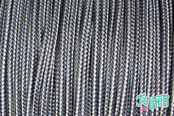 150 Meter Rolle Type II 425 Cord, Farbe F.S NAVY & WHITE...