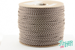 150 Meter Rolle Type II 425 Cord, Farbe WHITE & WALNUT...