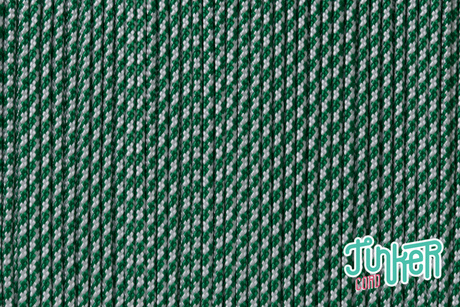 150 Meter Rolle Type II 425 Cord, Farbe WHITE & KELLY GREEN CC