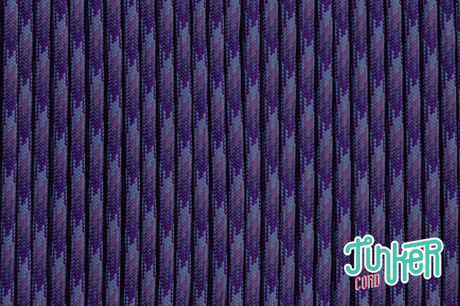 Meterware Type III 550 Cord, Farbe PURPLE BLEND