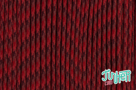 150 Meter Rolle Type III 550 Cord, Farbe RED BLEND