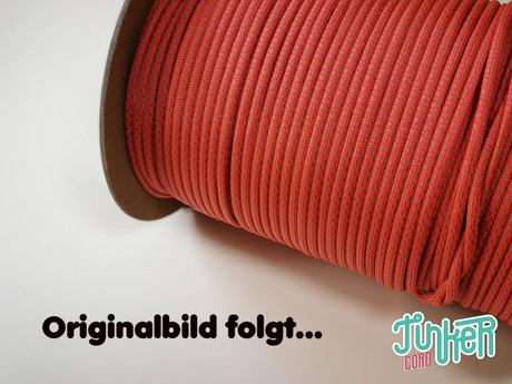 150 Meter Rolle Type III TINKER Cord, Farbe SALMON & GOLD DIAMONDS
