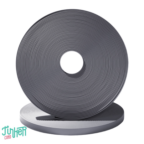 TINKER Biothane Grey 16mm Meterware