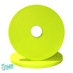 TINKER Biothane Neon Yellow 25mm Meterware