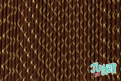 150 Meter Rolle Type III TINKER Cord, Farbe CHOCOLATE...