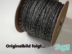 150 Meter Rolle Type II TINKER Cord, Farbe CHARCOAL GREY...