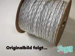150 Meter Rolle Type II TINKER Cord, Farbe WHITE & SILVER...