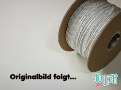 150 Meter Rolle Type I TINKER Cord, Farbe WHITE & SILVER...