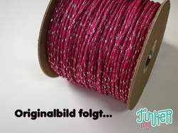 CUSTOM CUT Type II TINKER Cord in color FUCHSIA & SILVER...