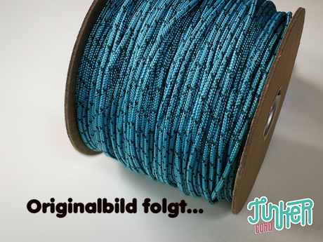 150 Meter Rolle Type II TINKER Cord, Farbe TURQUOISE & TEAL X