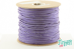 Meterware Type II TINKER Cord, Farbe ACID PURPLE & WHITE...
