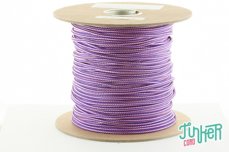 150m Rolle Type II TINKER Cord, Farbe ACID PURPLE & ROSE PINK STRIPE