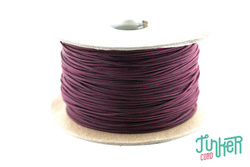 Meterware Type I TINKER Cord, Farbe BURGUNDY & BLACK STRIPE