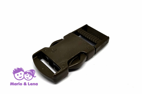 ITW Nexus Side Release Buckle 25mm Oliv RAL 6014