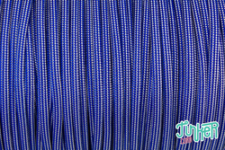 Meterware Type III TINKER Cord, Farbe ELECTRIC BLUE &...
