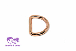 D-Ring  25mm Rosegold