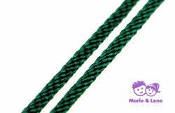PPM-Seil, Dark Green, Spiralgeflecht 8mm