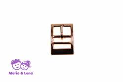 Double Buckle  rosegold 16mm