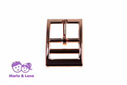 Double Buckle  rosegold 25mm