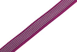 Rubber Webbing 20mm, Neon Pink