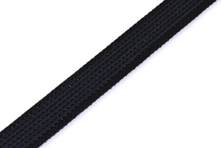 Rubber Webbing 20mm, Black
