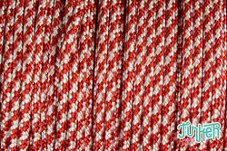 Meterware Type II 425 Cord, Farbe CANDY CANE